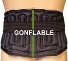 CEINTURES LOMBAIRES L4L5S1, ceinture lombaire contre le mal de dos, GONFLABLES AirLOMB